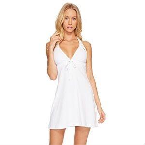 Polo Ralph Lauren Terry Grommet Halter Dress